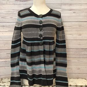 Free People Baby Doll Cardigan Sz Small